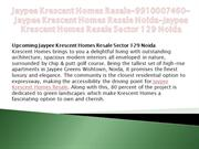 Jaypee Krescent Homes Resale-9910007460-Jaypee Krescent Homes Resale N