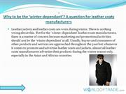 Leather coats PPT
