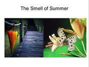 The Summer Smell