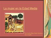 La mujer en la Eda Media