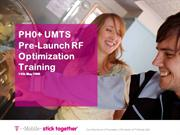 UMTS-Pre-Launch-RF-Optimization-Training-Ivan