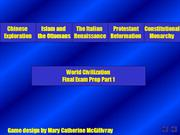 Jeopardy WCA Final Exam Review  - Activity