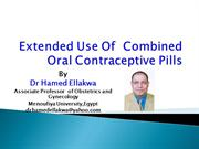 Extended Use Of Combined Oral Contaceptive Pills - Final
