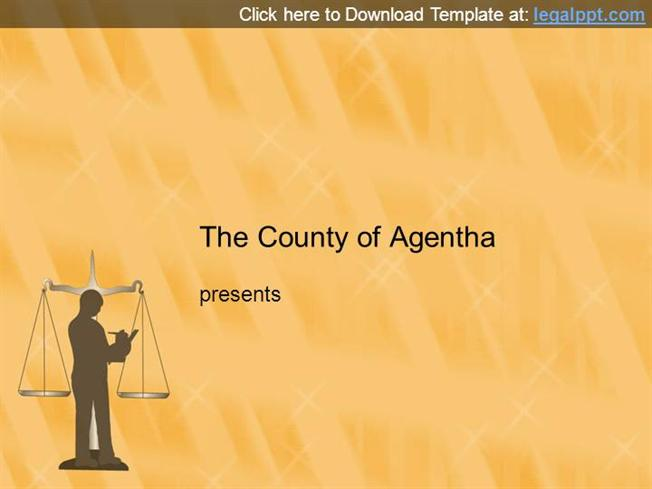 Media Law PPT Template for Powerpoint Presentation |authorSTREAM