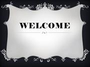 WELCOME 1.ppt