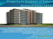 Property In Gurgaon at Sakura Homes@9266158585