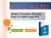 How to Split PST File