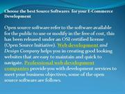 open source software for e commerce development