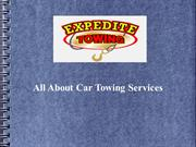 All About Car Towing Services