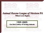 Animal Rescue League of WPA: 1909-2009