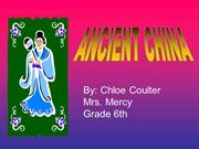 Ancient China chloe