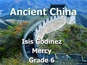 Ancient China Isis