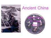 Ancient China martha