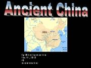Ancient China Power Point brian