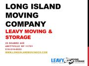 Long Island Moving Company, Long Island Movers