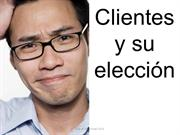 Clientes y eleccin