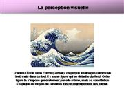 La perception et la Gestalt