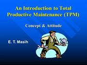 Etm-An Introduction to Total Productive Maintenance (TPM