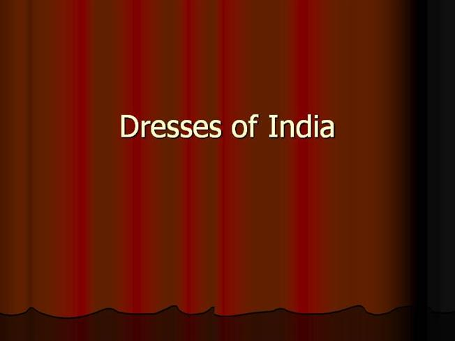 Indian traditional dresses statewise pictures
