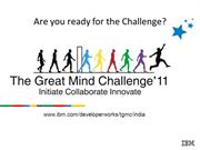 The Great Mind Challenge 2011-Self study Guide