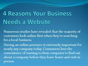4 Reasons your business needs a website