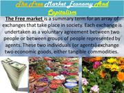 The Free Market Economy And Capitalism