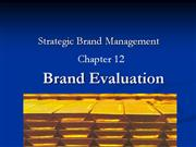 brand valutaion ppt
