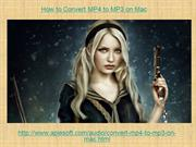 How to Convert MP4 to MP3 on Mac