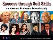 Success through Soft Skills