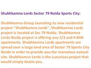 9899303232@ Shubhkamna Lords - Shubhkamna Lords Noida