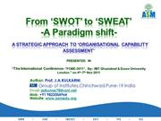 SWOT to SWEAT