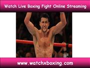 Today Live Boxing Fights
