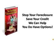 Stop foreclosure foreclosure help