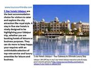 5 star Hotels Udaipur – Your Gateway to Ultimate Luxury Stay