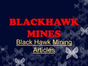 Black Hawk Mining Bulletin Articles: Aus Mining Continues Growth