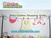 Baby Clothes Shopping Guide