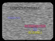 INTRODUCTION TO INTERNET