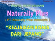 Profil Perusahaan, Company Profile PT. Naturally Plus Indonesia