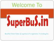 Online Bus Tickets Booking Service-superbus