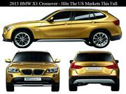 2013 BMW X1 Crossover - Hits The US Markets This Fall