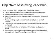 3rd  lecture 10, leadership