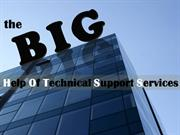 The Big Help Of Technical Support Services