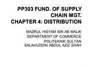 pp303 supply chain topic 4