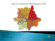 Top 10 websites for Web Design in UK