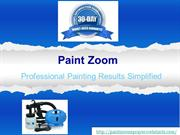Paint Zoom - Tranform DIY Paint Jobs into Professional Masterpieces