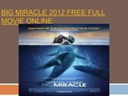 Big Miracle 2012 Free Full Movie Online