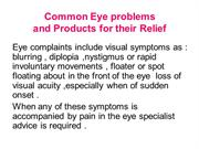 Common Eye problems new