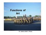 art appreciation module 3  functions of art