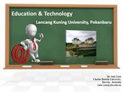 Education & ICT
