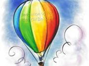 Hot Air Balloon by Bailey and Roxy